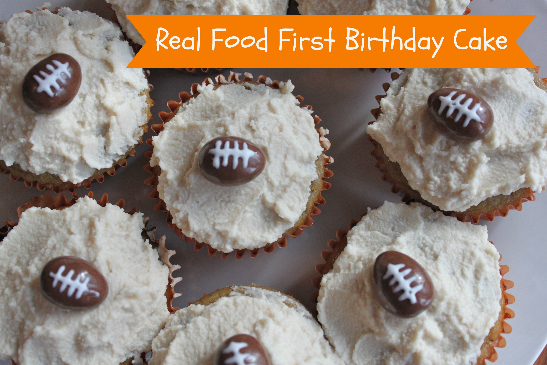 Tysons Healthy First Birthday Cake Sarah Bester