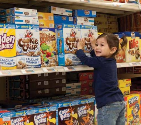 Kids Cereal Aisle