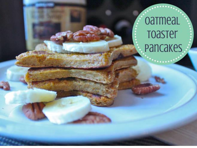 Oatmeal Toaster Pancakes1