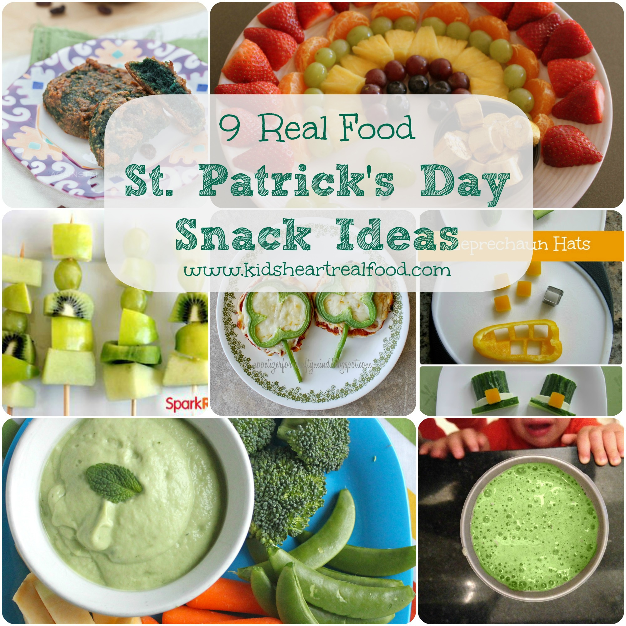 9 Real Food St Patricks Day Snack Ideas